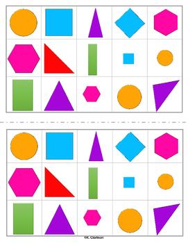 2D Shape Sort/Graph!