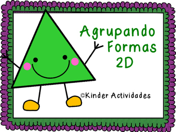 2D Real World Shape Sort (Spanish) / Agrupando las formas 2D