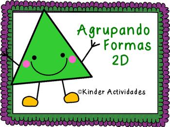 2D Real World Shape Sort (Spanish) / Agrupando las formas 2D