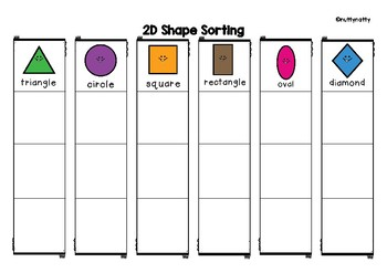 2D Shape Sorting