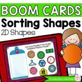 2D Shape Sorting Math Centers | Digital Game Boom Cards Di