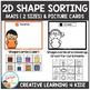 2D Shape Sorting Mats & Shape Cards