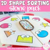 2D Shape Sorting Stones