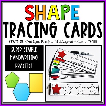 2D Shape Tracing Cards