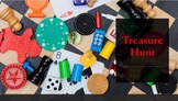 2D Shape Treasure Hunt PowerPoint with Real Life Pictures-