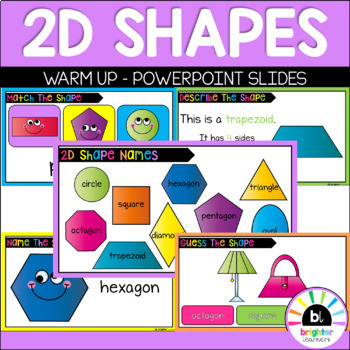 2D Shape Warm Up PowerPoint
