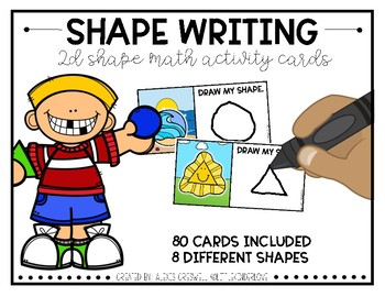 2D Shape Writing Fun