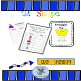 2D Shape activities and posters