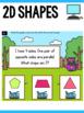 2D Shape and 3D Shape Task Cards - Geometry