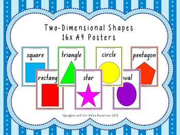 2D Shape display cards