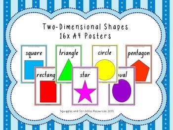 2D Shape display cards