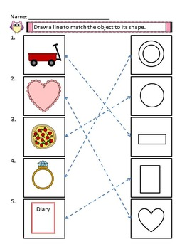 2D Shapes Worksheets with Answer Keys, 2D Shape Center