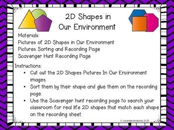 2D Shapes Centers