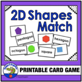 2D Shapes Memory Game