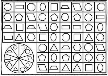 2D Shapes Games and Activities Pack