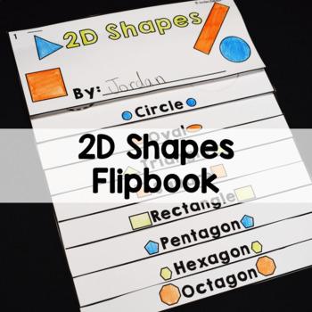 2D Shapes Flipbook