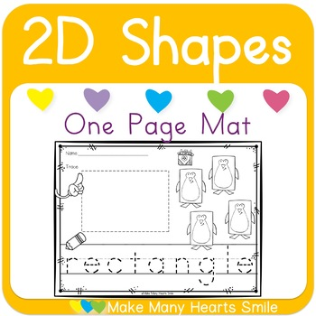 2D Shapes with Penguins