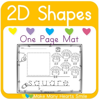 2D Shapes with Turkeys
