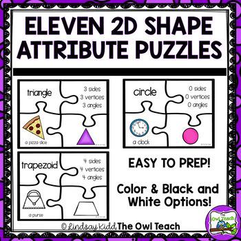 2D Shapes {Shape Puzzles}