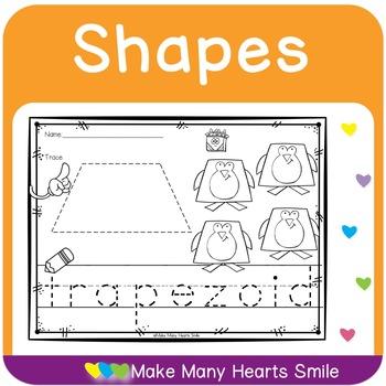 2D Shapes: Dot a Shape