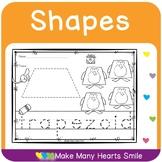 2D Shapes: Dot a Shape     MMHS14