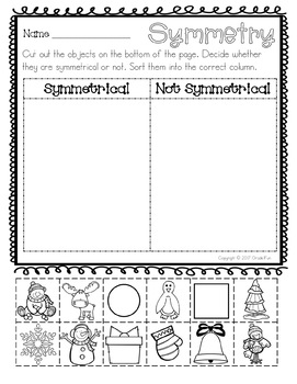 2D Shapes & 3D Shapes Practice Pages