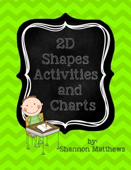 2D Shapes Activities and Charts