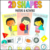 2D Shapes Activities and Posters