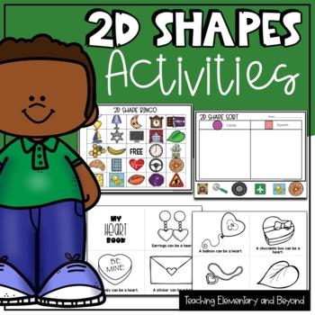 2D Shapes Activities for Kindergarten Students