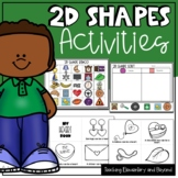 2D Shapes Activities for Kindergarten Students