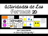 2D Shapes Activities in Spanish