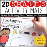 2D Shapes Activity Mats