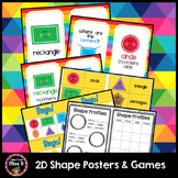 2D Shapes Posters and Activities