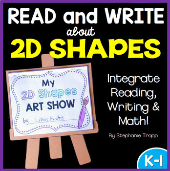 2D Shapes Activity: Read and Write about 2D Shapes