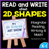 2D Shapes Booklet: Read and Write about 2D Shapes