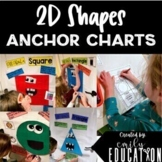 2D Shapes Anchor Charts GROWING BUNDLE