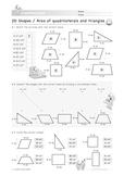 2D Shapes: Area