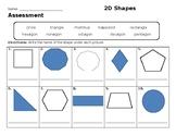 2D Shapes Assessment