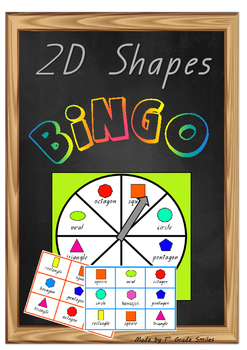 2D Shapes- BINGO