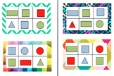 2D Shapes Bingo Game editable