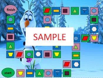 2D Shapes Board Games