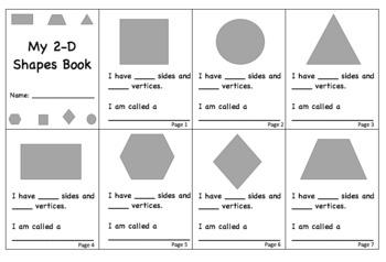 2D Shapes Book