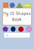 2D Shapes Booklet
