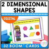 2D Shapes Boom™ Cards | Digital Center Activity