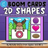 2D Shapes Boom Cards / Distance Learning