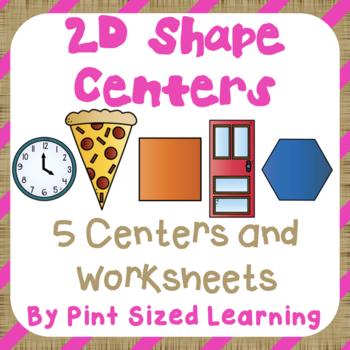 2D Shape Centers