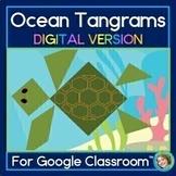 2D Shapes Center Ocean Tangram DIGITAL Puzzles For Google Slides™