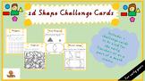 2D Shapes Challenge Cards