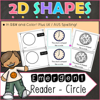 2D Shapes Circle Emergent Reader