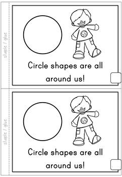2D Shapes Circle Emergent Reader